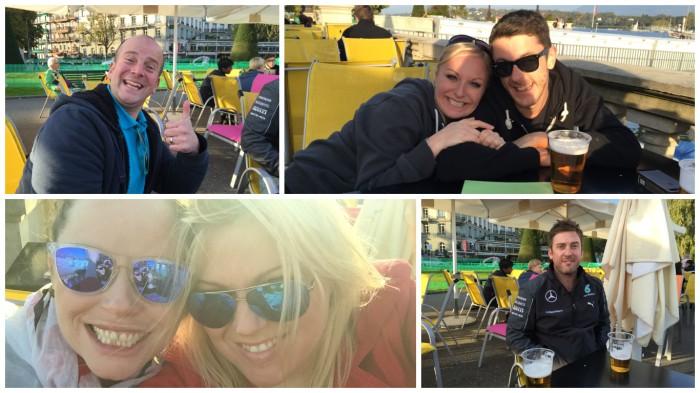 Jo, Ju, Andrea & Nick joined us in Geneva.