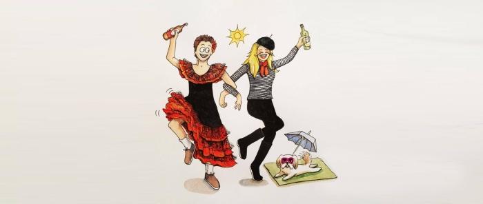 France, Spain and Portugal: Flip-flops in December,hurrah!